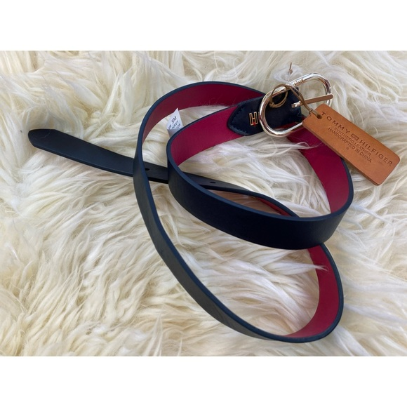 Tommy Hilfiger Faux Leather Reversible Belt